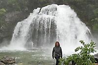 Slowenine Wasserfall Slap Virje